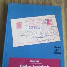 Postales: CATÁLOGO ESPECIALIZADO EN ENTEROS POSTALES DE ESPAÑA COLONIAS Y DEPENDENCIAS - CASO DEL SELLO. Lote 89613660