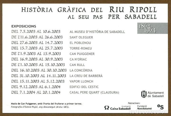 Postales: HISTORIA GRAFICA RIU RIPOLL SABADELL - Foto 2 - 267891209