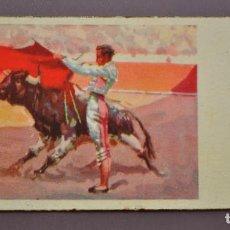 Postales: TAUROMAQUIA S. 2040 ED. DE ARTE IKON 1940. Lote 91656830
