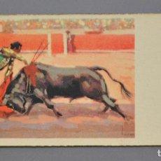 Postales: TAUROMAQUIA S. 2040 ED. DE ARTE IKON 1940. Lote 91657175