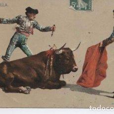 Postales: (5388) POSTAL TAUROMAQUIA. CORRIDA DE TOROS. LA PUNTILLA. Lote 91944440
