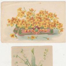 Postales: LOTE DE 2 POSTALES ALEMANAS.- ANTERIOR A 1905.. Lote 92354480