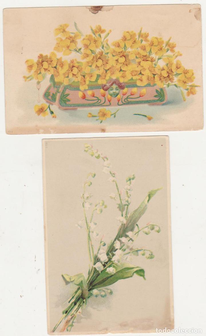 LOTE 2 POSTALES ALEMANAS.- ANTERIORES A 1905. (Postales - Varios)