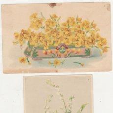 Postales: LOTE 2 POSTALES ALEMANAS.- ANTERIORES A 1905.. Lote 92354910