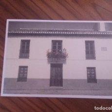 Postales: POSTAL. FEDERICO GARCÍA LORCA CASA NATAL EN FUENTEVAQUEROS, 1930. BUEN ESTADO. NO USADA. . Lote 93089730