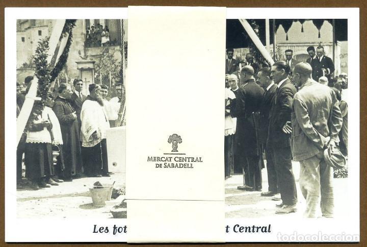 4 POSTALES - MERCAT CENTRAL DE SABADELL (Postales - Varios)