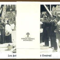 Cartoline: 4 POSTALES - MERCAT CENTRAL DE SABADELL. Lote 189384402