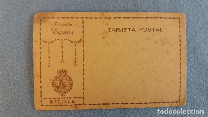 Postales: ANTIGUA TARJETA POSTAL FOTOGRAFIA ESPAÑA SIN CIRCULAR MELILLA ORIGINAL - Foto 2 - 94313542