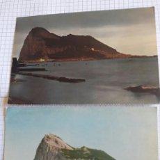 Postales: LOTE 2 POSTALES CIRCULADAS GIBRALTAR 1964 Y 1967. Lote 94378015