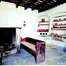 Postales: POSTAL 016478: BARCELONA - COCINA DE LA CASA VERDAGUER EN FOLGUEROLES MUSEO VERDAGUER. Lote 55621814