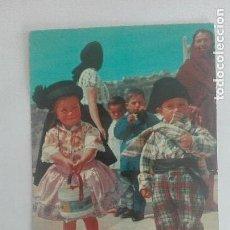 Postales: ANTIGUA TARJETA POSTAL PORTUGAL NAZARE CIRCULADA AÑOS 60. Lote 95598075