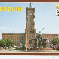 Postales: POSTAL 028283 : BERLIN, NEPTUNBRUNNEN VOR DEM RATHAUS. Lote 95716012