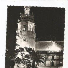 Postales: RONDA - IGLESIA DE SANTA MARÍA LA MAYOR ILUMINADA - Nº 219 ED. ARRIBAS. Lote 95757911