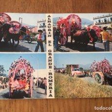 Postales: P0634 POSTAL FOTOGRAFIA NUMERO 1 ALHAURIN EL GRANDE ROMERIA TIPICA EL ROCIO. Lote 95763651