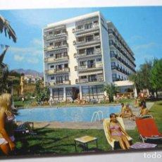 Postales: POSTAL TORREMOLINOS .-HOTEL TORREMORA. Lote 95775687