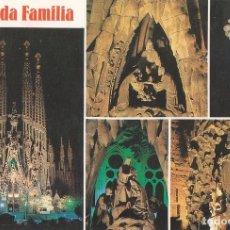 Postales: POSTAL 61152 : SAGRADA FAMILIA BARCELONA. Lote 95915260