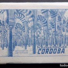 Postales: ANTIGUA CARPETA DE 10 POSTALES RECUERDO DE CORDOBA, EDICIONES ARRIBAS, VER FOTOGRAFÍAS Y COMENTARIOS. Lote 95930763