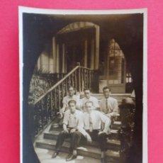 Postales: ANTIGUA POSTAL FOTOGRAFICA - GRUPO DE HOMBRES - LUGAR A IDENTIFICAR.. R-7016. Lote 96212059