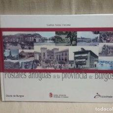 Cartoline: LIBRO POSTALES ANTIGUAS DE LA PROVINCIA DE BURGOS. Lote 96709547
