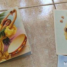 Postales: POSTALES ANTIGUAS ANIMADAS DESPLEGABLE . Lote 97707175