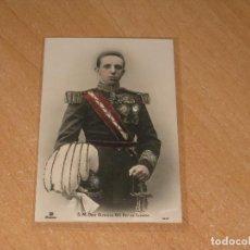 Postales: POSTAL DE S.M. ALFONSO XIII. REY DE ESPAÑA. Lote 98008151