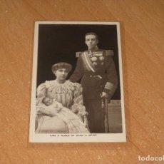 Postales: POSTAL KING & QUEEN OF SPAIN & INFANT. Lote 98008363