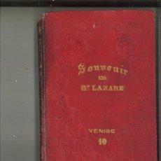 Postales: SOUVENIR DE ST. LAZARE. VENISE 10. Lote 178714992