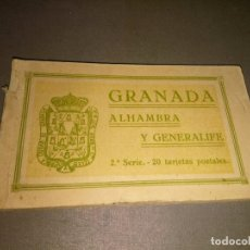Postais: 1118- 18 ANTIGUAS TARJETAS POSTALES DE GRANADA 2ª SERIE -EDIC GRAFOS /MADRID ( SIN CIRCULAR). Lote 98395395
