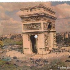 Postales: POSTAL SONORA/LA CARTE MUSICALE PARIS L'ARC DE TRIOMPHE. Lote 98619291