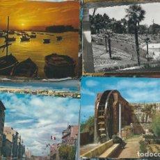 Postales: LIQUIDACION DE 100 POSTALES ESPAÑOLAS CIRCULADAS. Lote 98789895