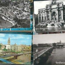 Postales: LIQUIDACION DE 100 POSTALES ESPAÑOLAS CIRCULADAS. Lote 98790631
