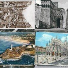 Postales: LIQUIDACION DE 100 POSTALES EXTRANJERAS LA MAYORIA EUROPEAS CIRCULADAS. Lote 98803891