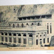 Postales: POSTAL ANTIGUA TERNI CENTRAL ELECTRICA DE GALLETO. ITALIA. POTENZA. Lote 98812659
