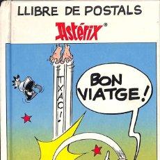 Postales: LLIBRE DE POSTALS AXTERIX - TIMUN MAS 1991. Lote 98813187