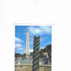 Postales: POSTAL ANTIGUA SIN CIRCULAR TURQUIA ESTAMBUL COLUMNA Y OBELICOS EGIPCIO. Lote 98960127