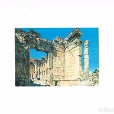 Postales: POSTAL ANTIGUA SIN CIRCULAR LIBANO ENTRADA TEMPLO DE BACO. Lote 98960991
