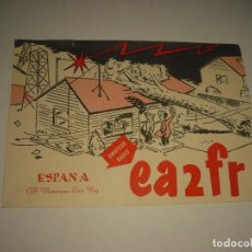 Postales: POSTAL RADIO AFICIONADO .EA2FR , BILBAO 1961. Lote 99202107
