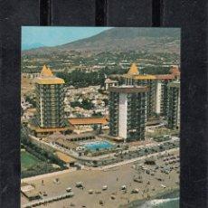Postales: FUENGIROLA. HOTEL LAS PIRAMIDES. Lote 100561775