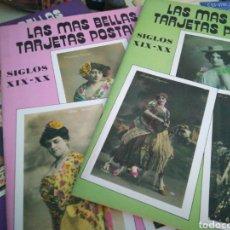 Postales: LAS MÁS BELLAS POSTALES. SIGLO XLX Y SIGLO XX. Lote 101473378