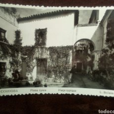 Postales: POSTAL CORDOBA -PLAZA TIPICA N°304 CIRCULADA. Lote 102483519
