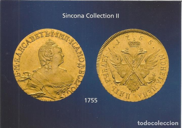 6 POSTALES, SINCONA COLLECTION II, RUSSIA - S/C (Postales - Varios)