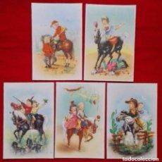Postales: LOTE DE POSTALES ANTIGUAS. Lote 103196835