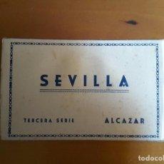 Postales: BLOCK POSTALES SEVILLA - TERCERA SERIE - HELIOTIPIA ARTÍSTICA ESPAÑOLA (10 POSTALES - COMPLETO). Lote 103196879