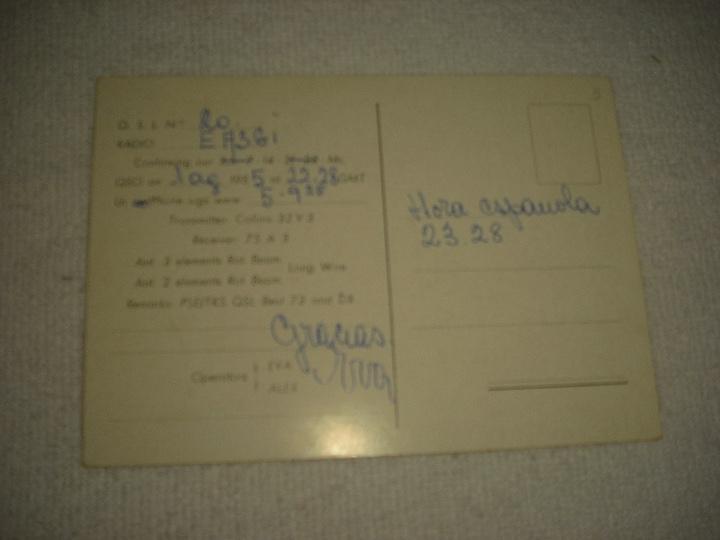 Postales: FRENCH MAROCCO, NORTH AFRICA 1955 , POSTAL DE RADIO AFICIONADO - Foto 2 - 103600395