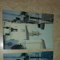 Postales: FANTASTICAS 2 POSTALES ANTIGUAS TIPICA CALLE DE ESTEPONA. Lote 104258592