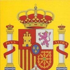 Postales: TARJETA POSTAL ESCUDO DE ESPAÑA. Lote 104267567