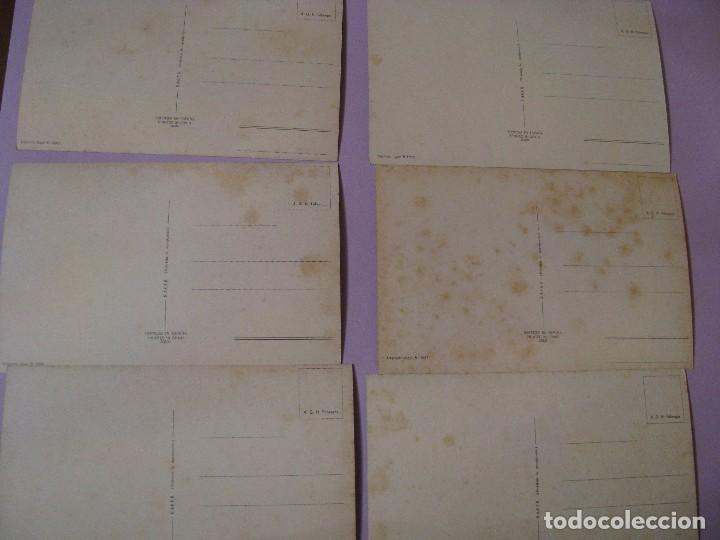 Postales: LOTE DE 6 POSTALES ED. RAKER. ILUSTR. JOSMAN. SERIE 203. SIN CIRCULAR. NºNº 4, 8, 9, 11, 13, 16 - Foto 2 - 104320583