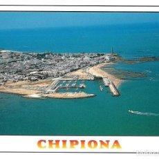 Postales: TARJETA POSTAL CHIPIONA (CÁDIZ) VISTA AÉREA GOMEZ 797. Lote 104332671