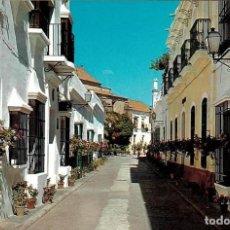 Postales: TARJETA POSTAL CHIPIONA (CÁDIZ) CALLE FRAY BALDOMERO GONZALEZ VERA 1305. Lote 104332771