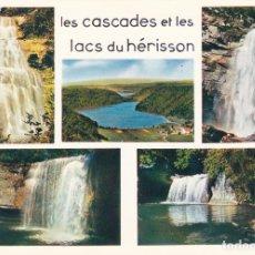 Postales: POSTAL 18926: CASCADES ET LAC S DU HERISSON. Lote 105302574